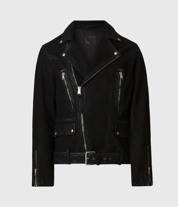 Bronto Leather Biker Jacket