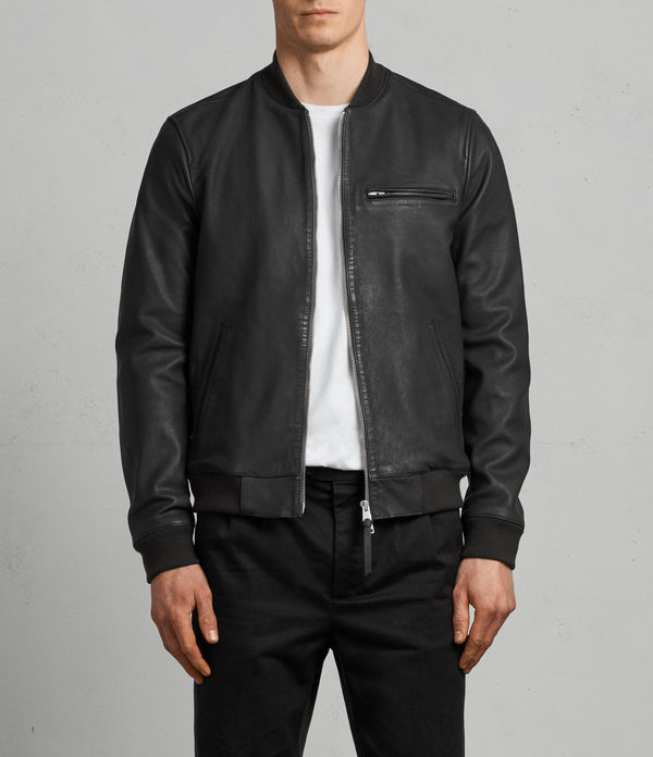 ellison leather bomber jacket