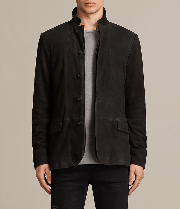 Seymour Leather Blazer