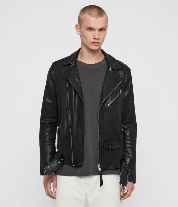 roundhouse leather biker jacket