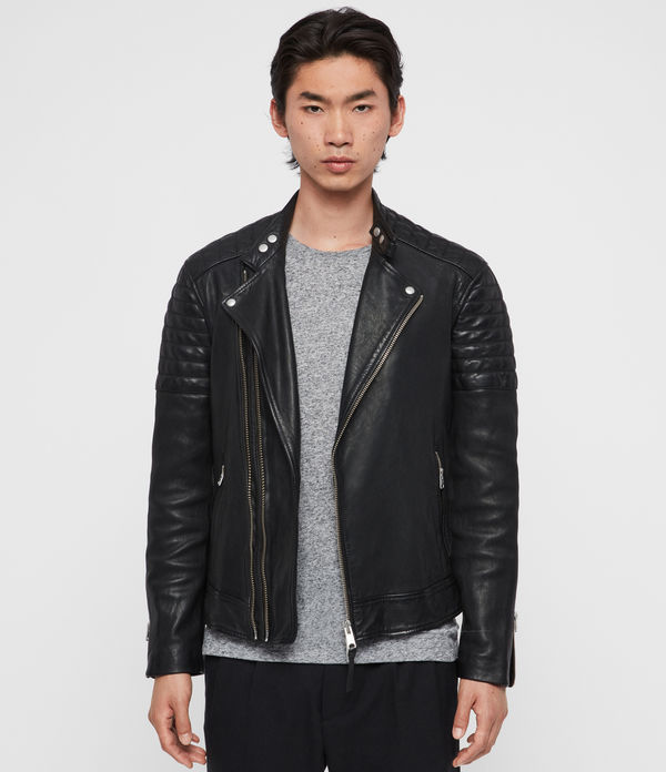 Rigby Leather Biker Jacket