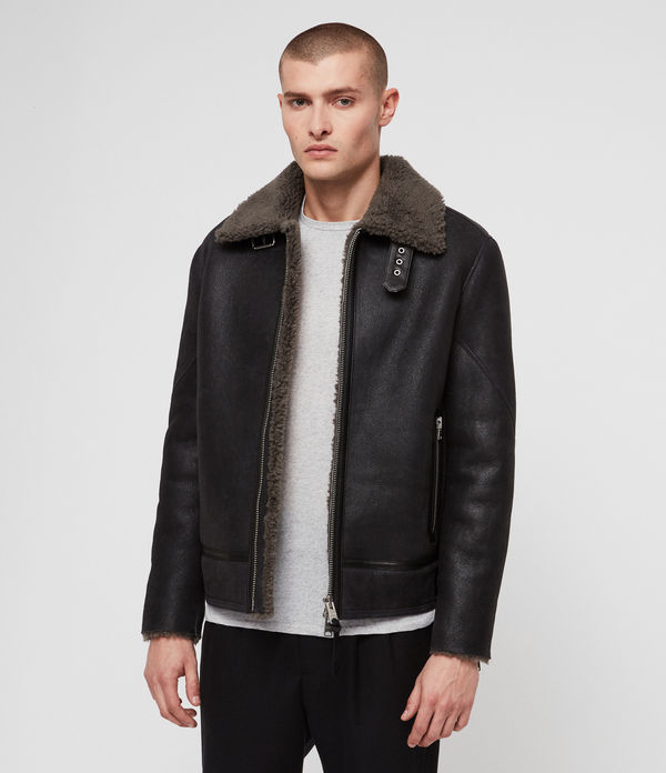 lowell shearling jacke