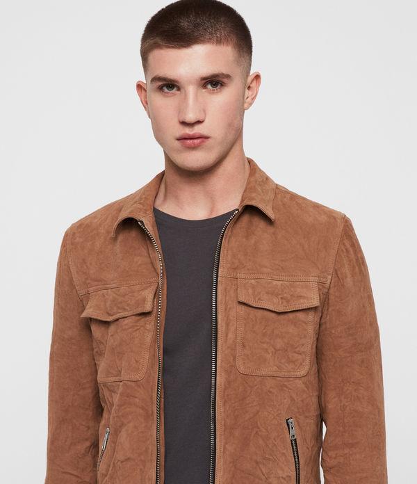 Garter Suede Jacket