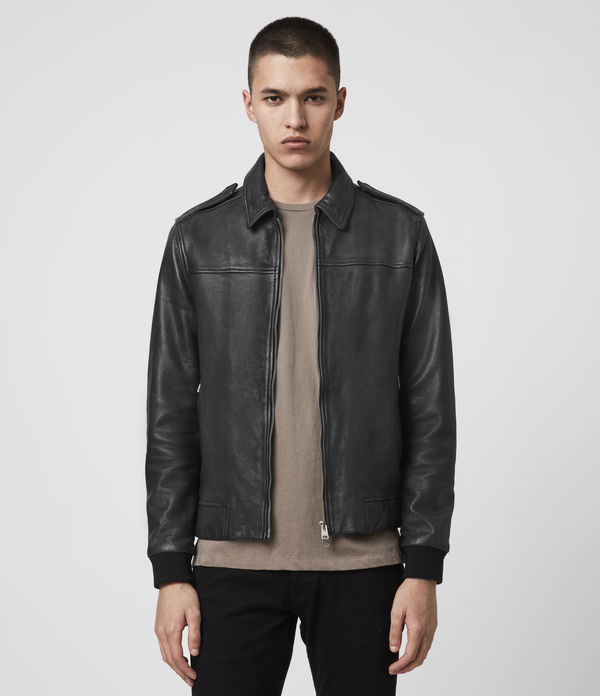 Junction Leather Jacket