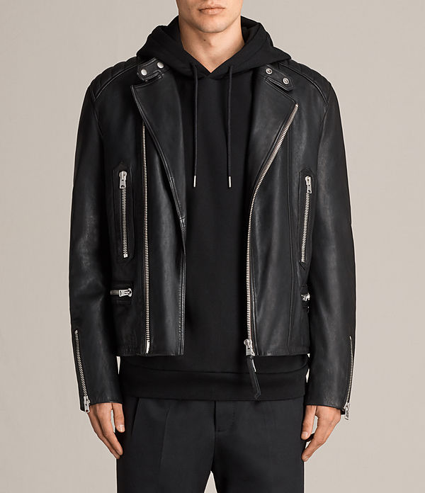 Reimer Leather Biker Jacket