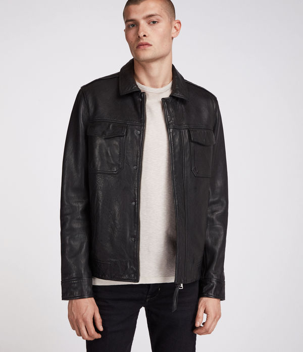 f040a2d15 ALLSAINTS US: Men's Leather Jackets, Shop Now.