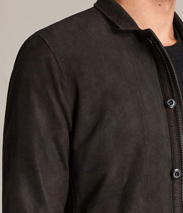 Balmorro Leather Blazer
