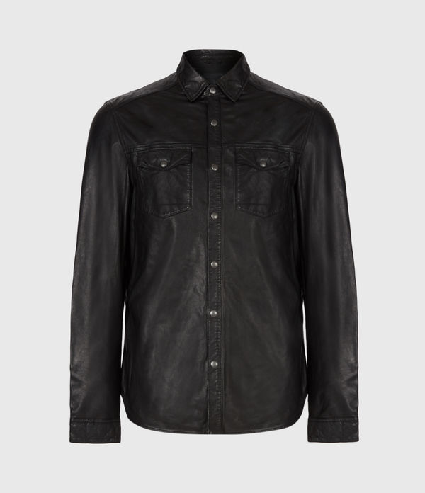 Irwin Leather Shirt