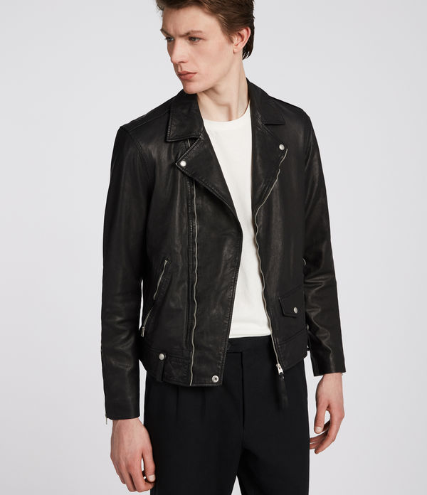 jace leather biker jacket
