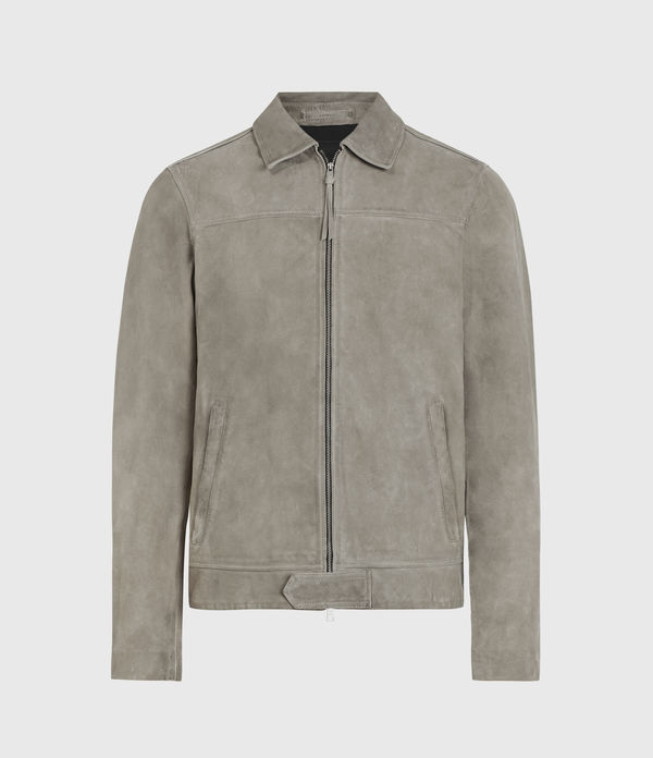 hampden suede jacket