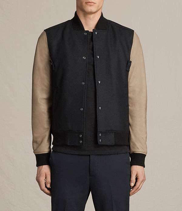 bomber in pelle murray