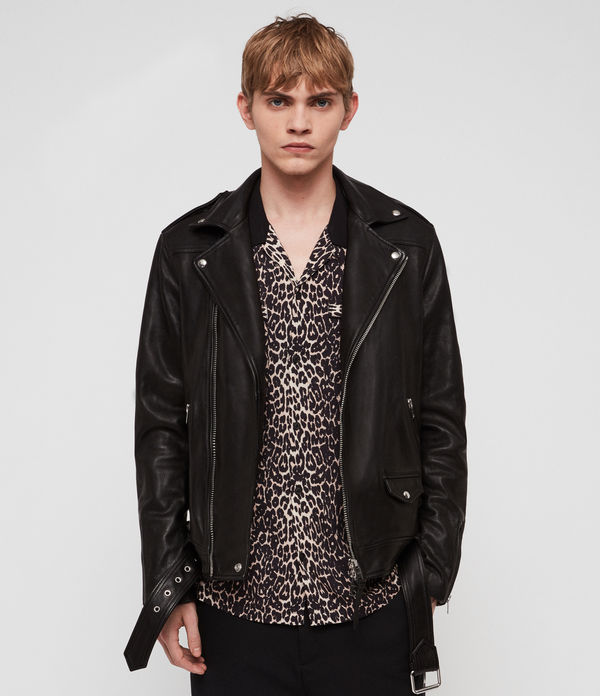 Manor Leather Biker Jacket