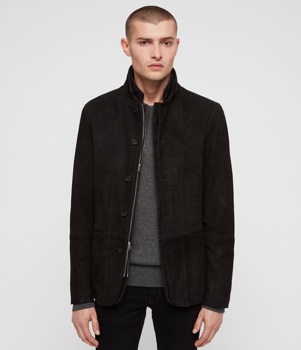 Dayton Leather Blazer