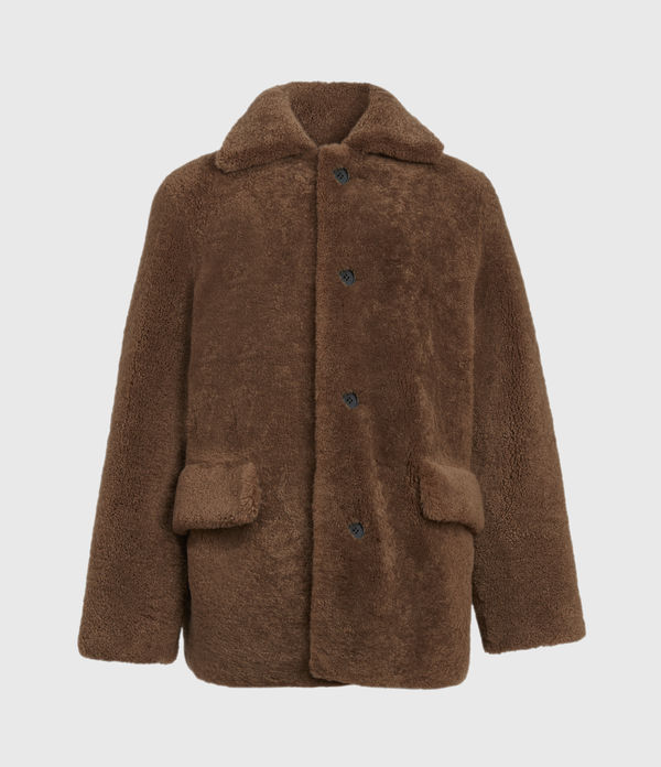 Carter Shearling Coat