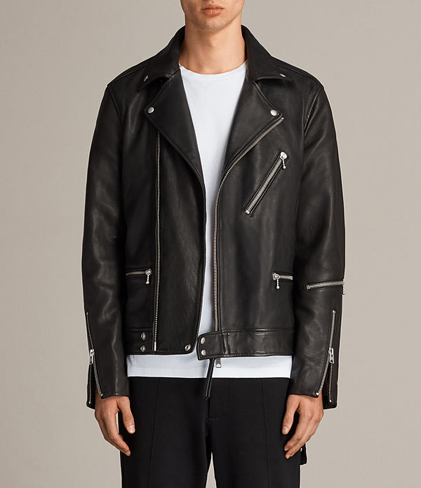 Ryo Leather Biker Jacket