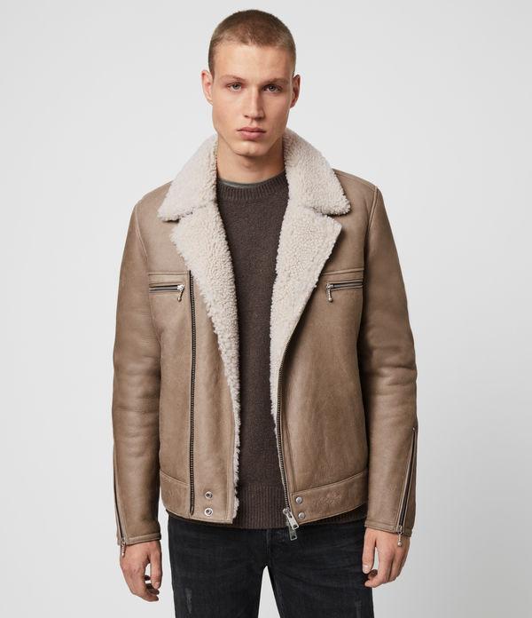 Coleman Shearling Biker Jacket