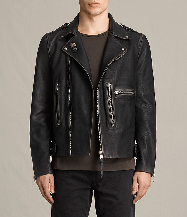 wykham leather biker jacket
