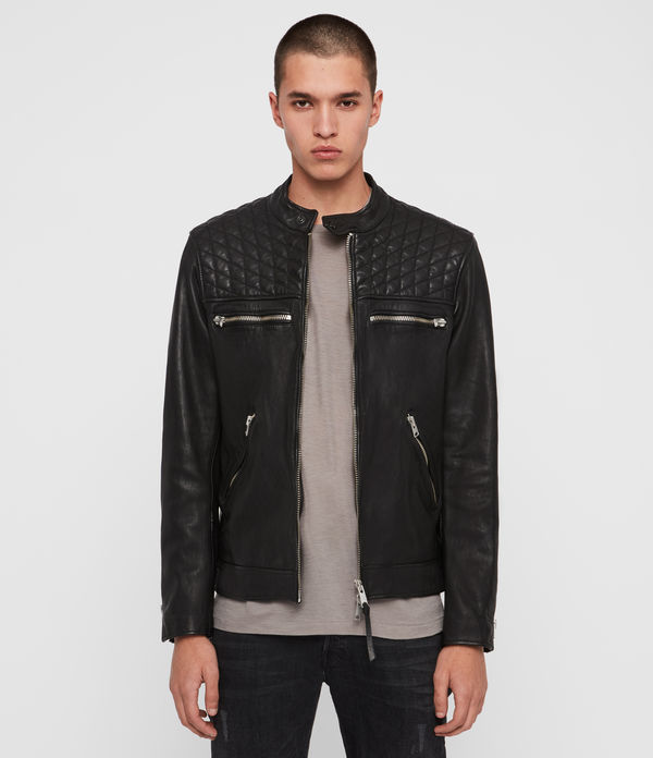 Amersham Leather Biker Jacket