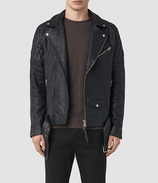 Boyson Leather Biker Jacket