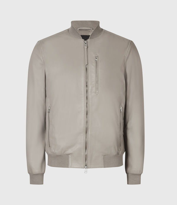 Kiro Leather Bomber Jacket