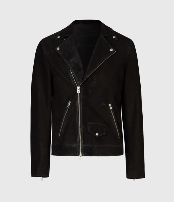Mauri Leather Biker Jacket