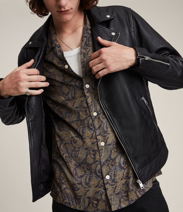 Tyson Leather Biker Jacket