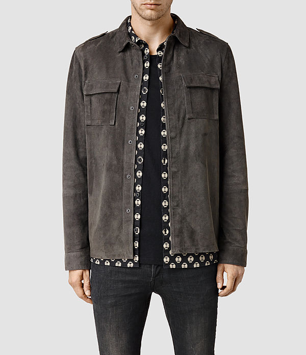 nassau leather shirt