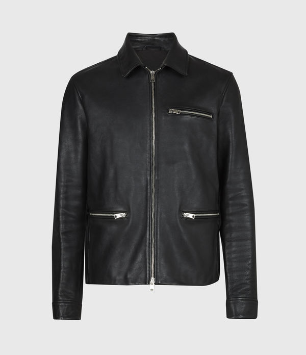 Clay Leather Jacket