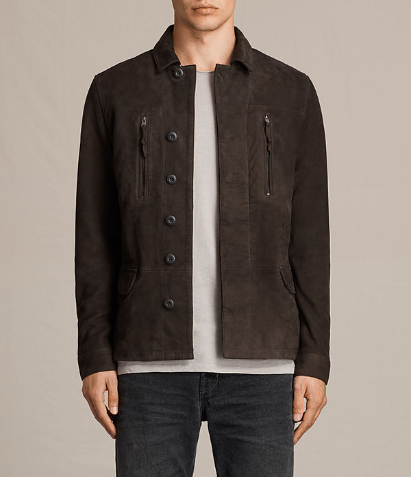 Warner Leather Blazer