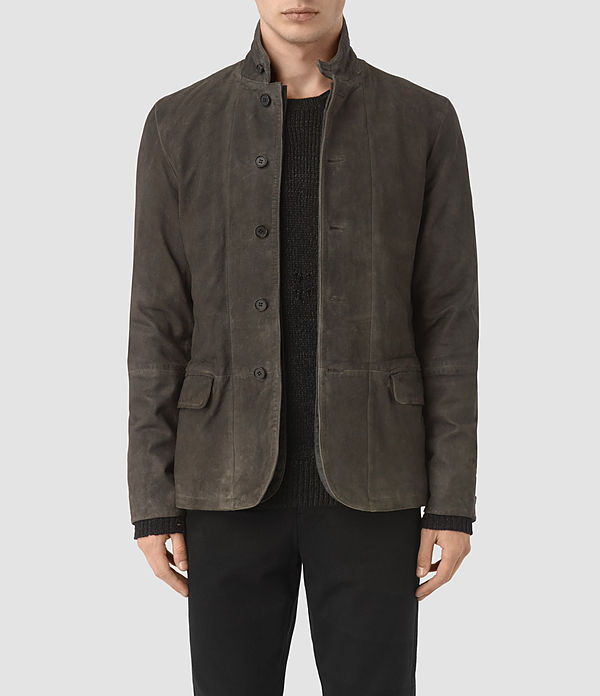 Emerson Leather Blazer
