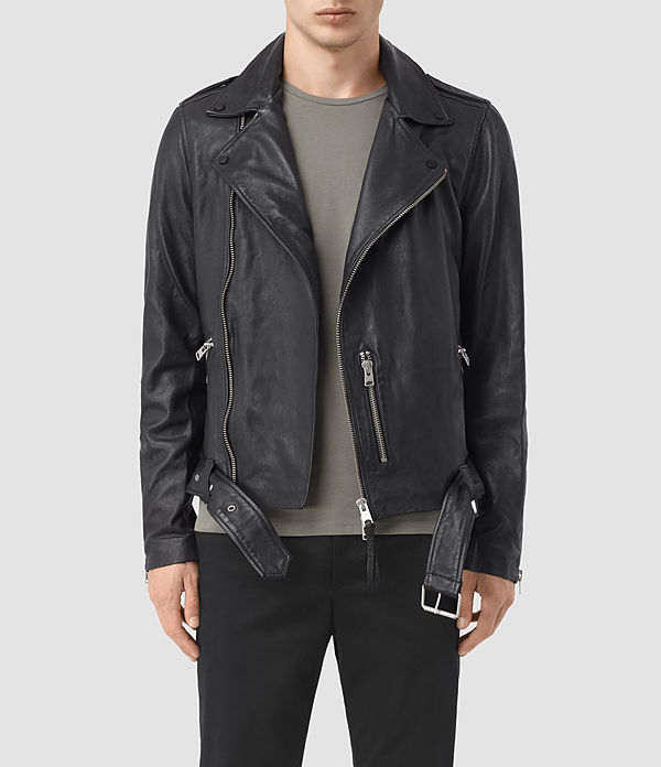 kahawa leather biker jacket