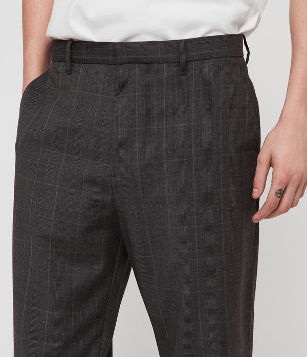 Ante Cropped Relaxed Trousers