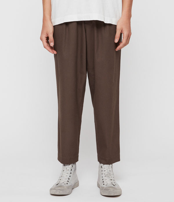 Keet Cropped Wide-Leg Pants