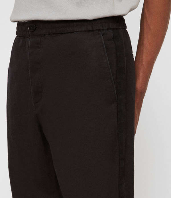 Bellew Cropped Slim Trousers