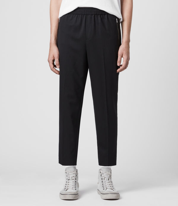 Buxton Cropped Slim Trousers