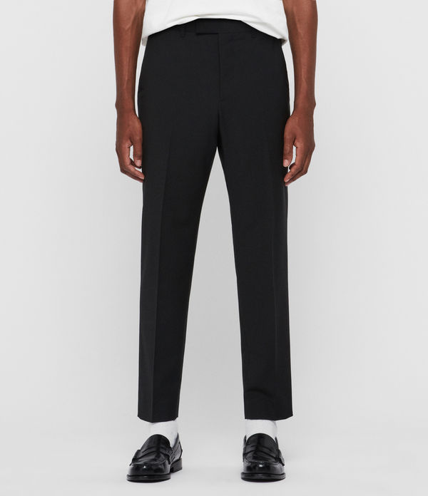 cleaver cropped slim trousers
