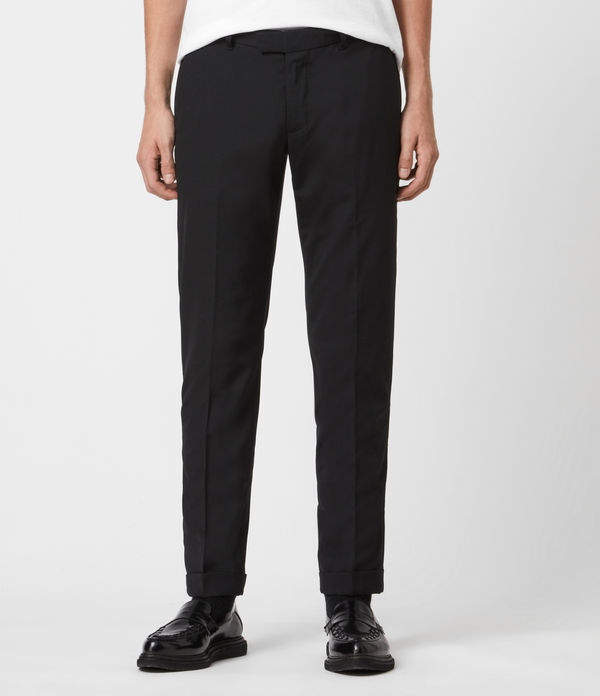 Oakes Slim Cropped Trousers