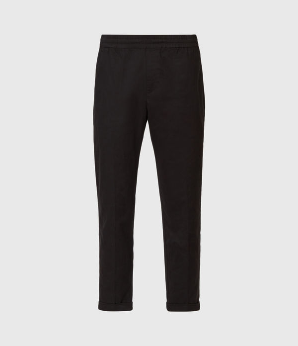 Dix Cropped Slim Trousers