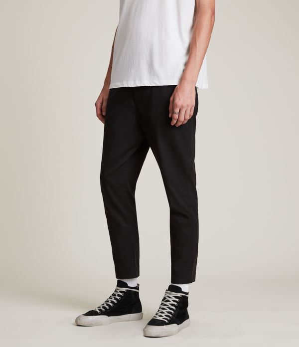 Kato Cropped Slim Trousers