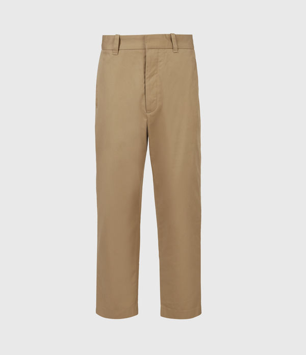 Cart Cropped Straight Pants