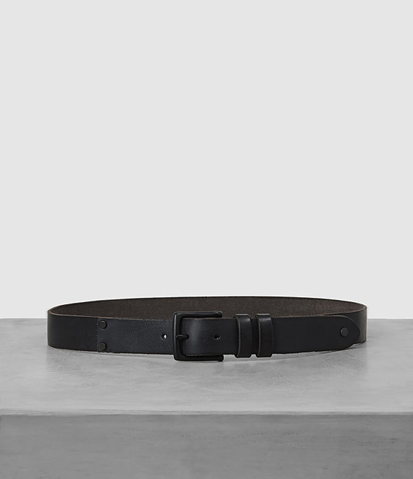 Slim Annex Leather Belt