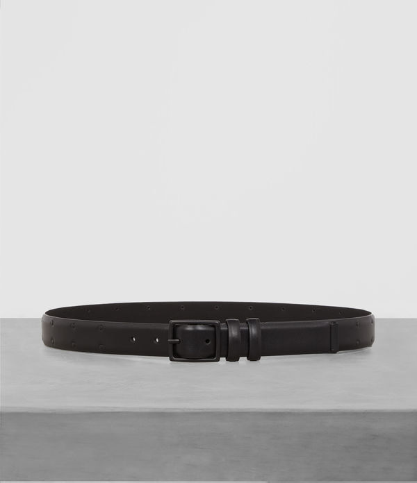 clift leather stud belt