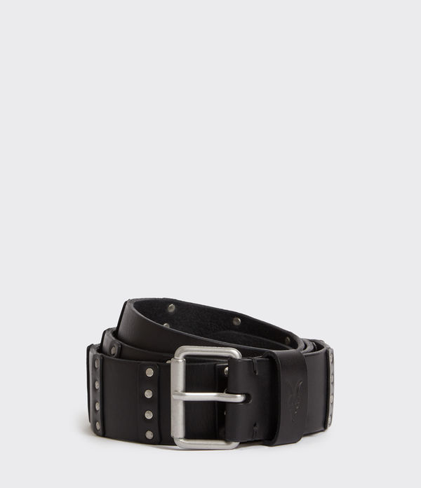 limit leather belt