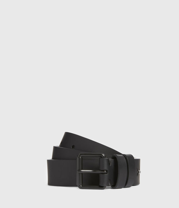 nico skinny leather belt