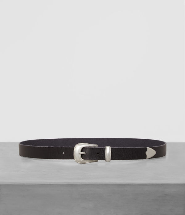 Wyatt Leather Belt