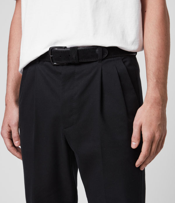 Carson Leather Belt