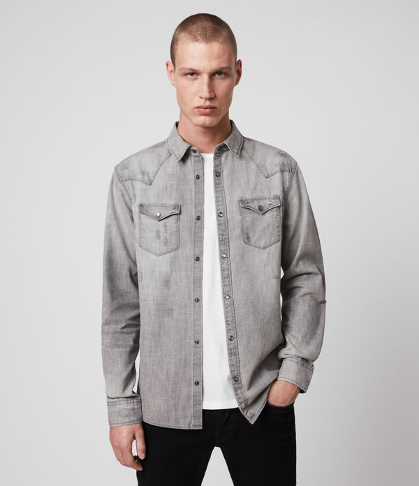 rewa denim shirt