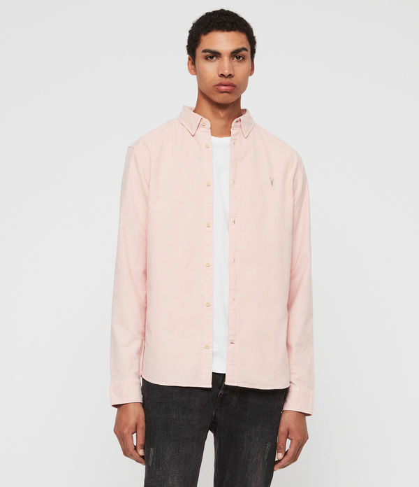 0916116a44f43b ALLSAINTS UK: Men's shirts, shop now.