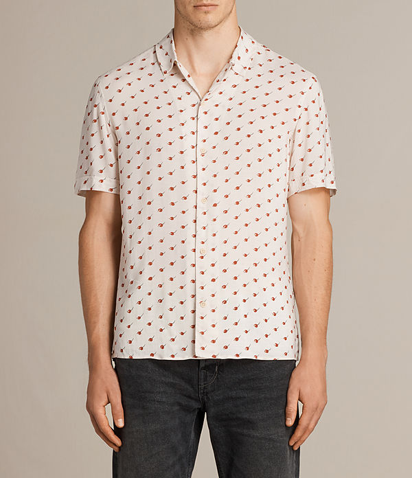 Cerise Short Sleeve Shirt