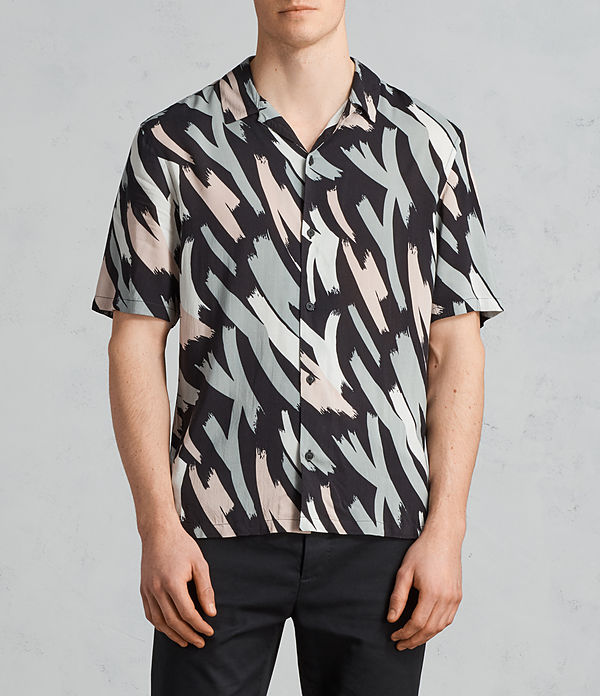 rope short sleeve shirt